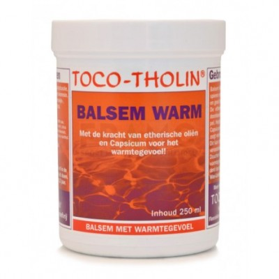 Toco-Tholin Balsem Warm 250ml