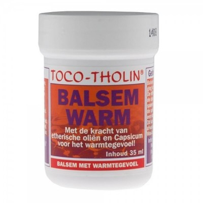 Toco-Tholin Balsem Warm 35ml