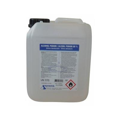 Desinfectie Alcohol 80% - 5 Liter - Desinfecterende Hand Alcohol Vloeistof - Extra Sterk